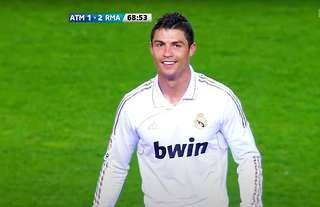 Cristiano Ronaldo just loves scoring against Atletico Madrid, doesn't he?