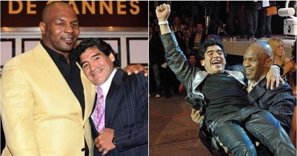 Mike Tyson's tweet about Diego Maradona is going viral after football legend dies - GIVEMESPORT