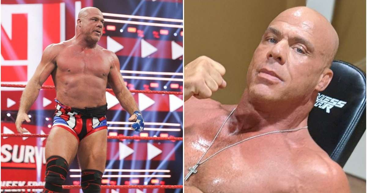 WWE news: Kurt Angle shows off his amazing physique aged 51 - 'feeling like I'm in my 30s' - GIVEMESPORT