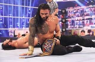 Reigns claims he's carrying WWE in his generation