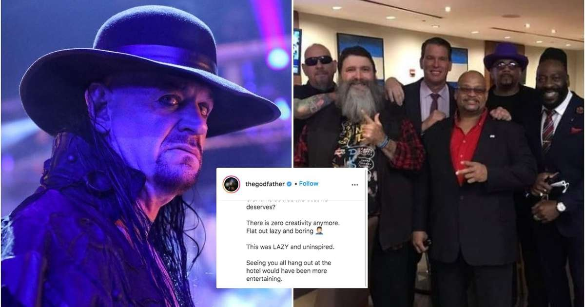 'Could have been written better' - The Godfather criticises The Undertaker's 'Final Farewell'