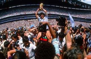 Diego Maradona won the 1986 World Cup with Argentina