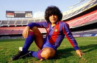 Diego Maradona signed for Barcelona from Boca Juniors in 1982