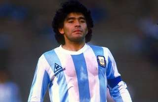 Argentina legend Maradona is one of football's greatest ever players.