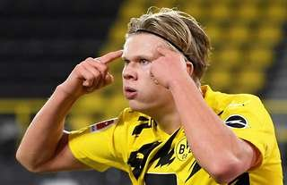 Erling Haaland has scored 17 goals for Borussia Dortmund this season