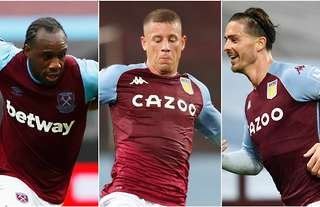Michail Antonio, Ross Barkley, Jack Grealish