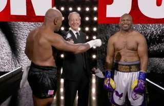 Mike Tyson vs Roy Jones Jr. ends in a draw!