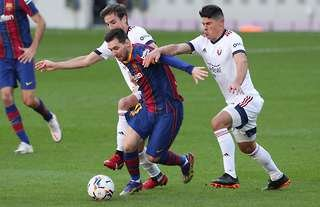 Lionel Messi looked back to his best vs Osasuna
