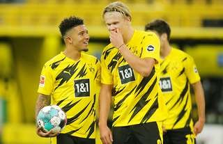 Jadon Sanco & Erling Haaland are two of world football's young superstars