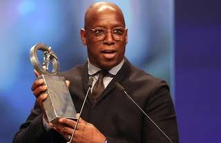 Arsenal legend, Ian Wright