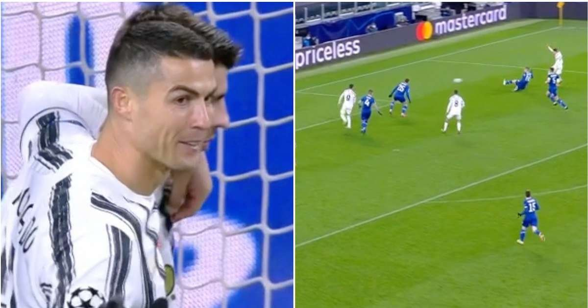 Cristiano Ronaldo broke a Lionel Messi record with Champions League goal for Juventus - GIVEMESPORT