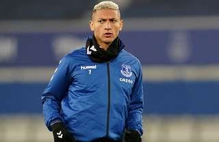 Richarlison in action for Everton