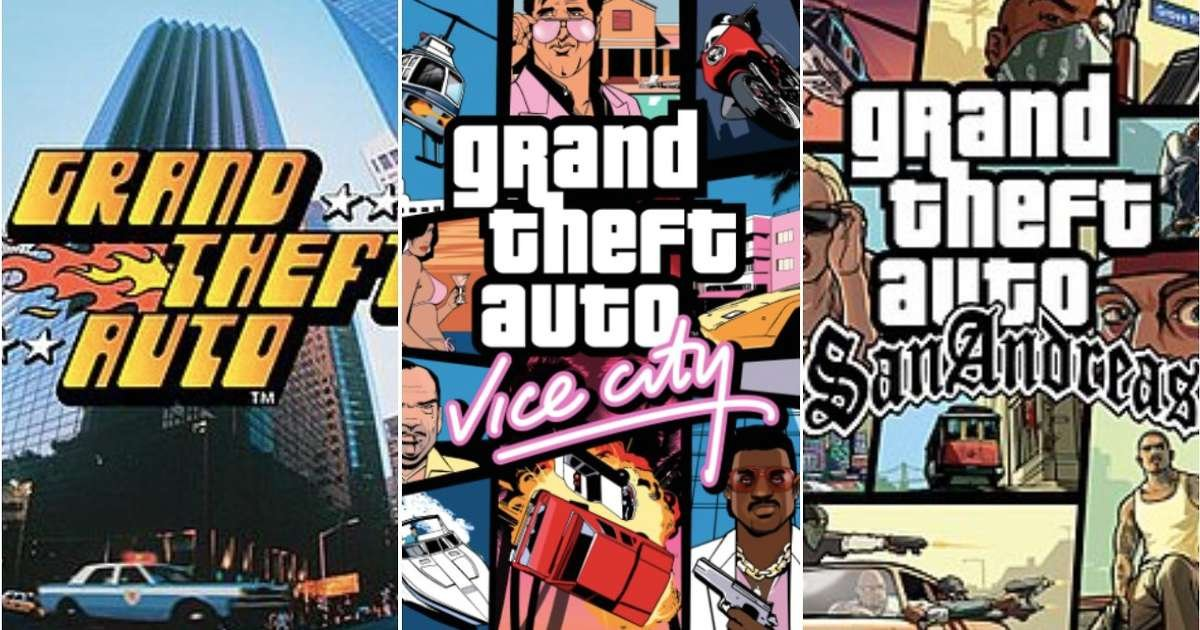 Every Grand Theft Auto game ranked from worst to best according to their Metacritic score