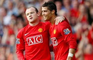 Wayne Rooney & Cristiano Ronaldo are two of Manchester United's greatest ever players