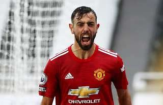 Man United's Bruno Fernandes stat