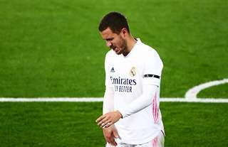 Real Madrid star Eden Hazard injured