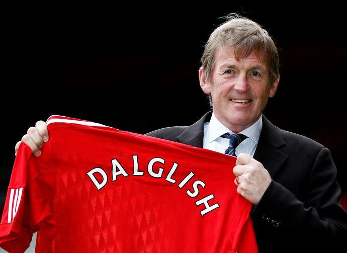 Dalglish arrives as Liverpool manager