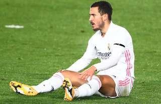 Hazard has struggled since leaving Chelsea for Real Madrid.