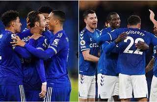 Leicester City and Everton combined XI