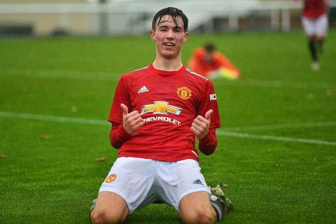 Man United youngster, Charlie McNeill