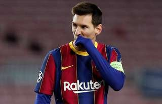 Lionel Messi has not been at his brilliant best for Barcelona in 2020/21