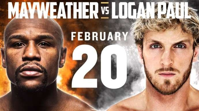 Mayweather v Logan Paul