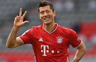 Bayern Munich's Lewandowski won FIFA's 'The Best' award.