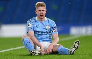 Kevin De Bruyne played as a 'false nine' for Man City vs Chelsea