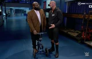 WWE Hall of Famer Henry was injured on RAW