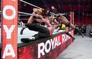 The WWE Royal Rumble takes place later this month