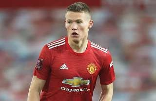 Scott McTominay in action for Man United