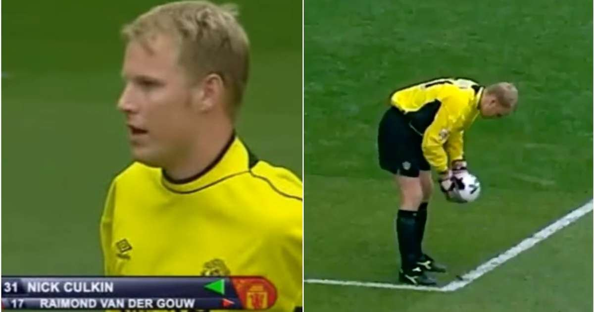 Former Manchester United goalkeeper Nick Culkin holds unusual Premier  League record | GiveMeSport