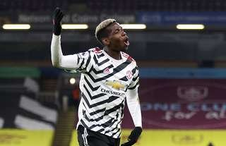 Paul Pogba scored the only goal vs Burnley at Turf Moor