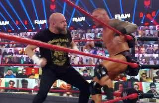 Triple H returned for a shock match on WWE RAW