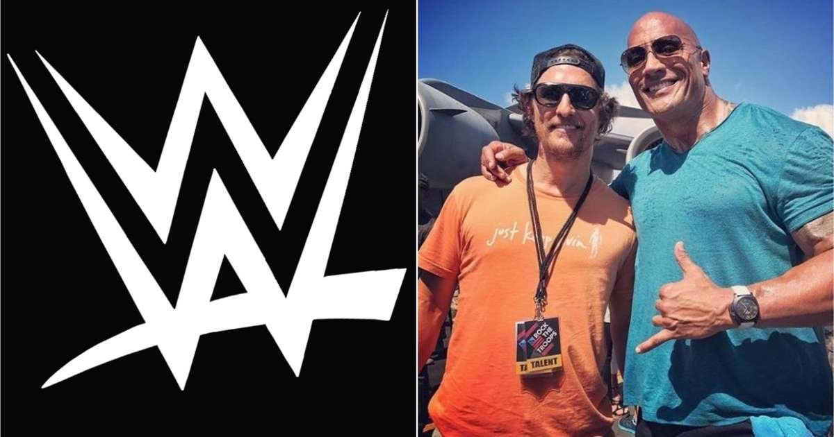 Matthew McConaughey hints he could be the next Hollywood star to enter the WWE ring