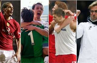 Liverpool vs Man United collage