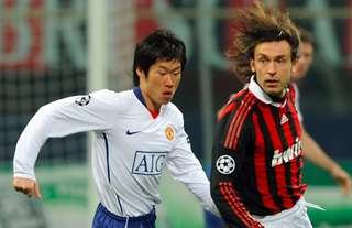 Park Ji-Sung pocketed Andrea Pirlo in 2010!