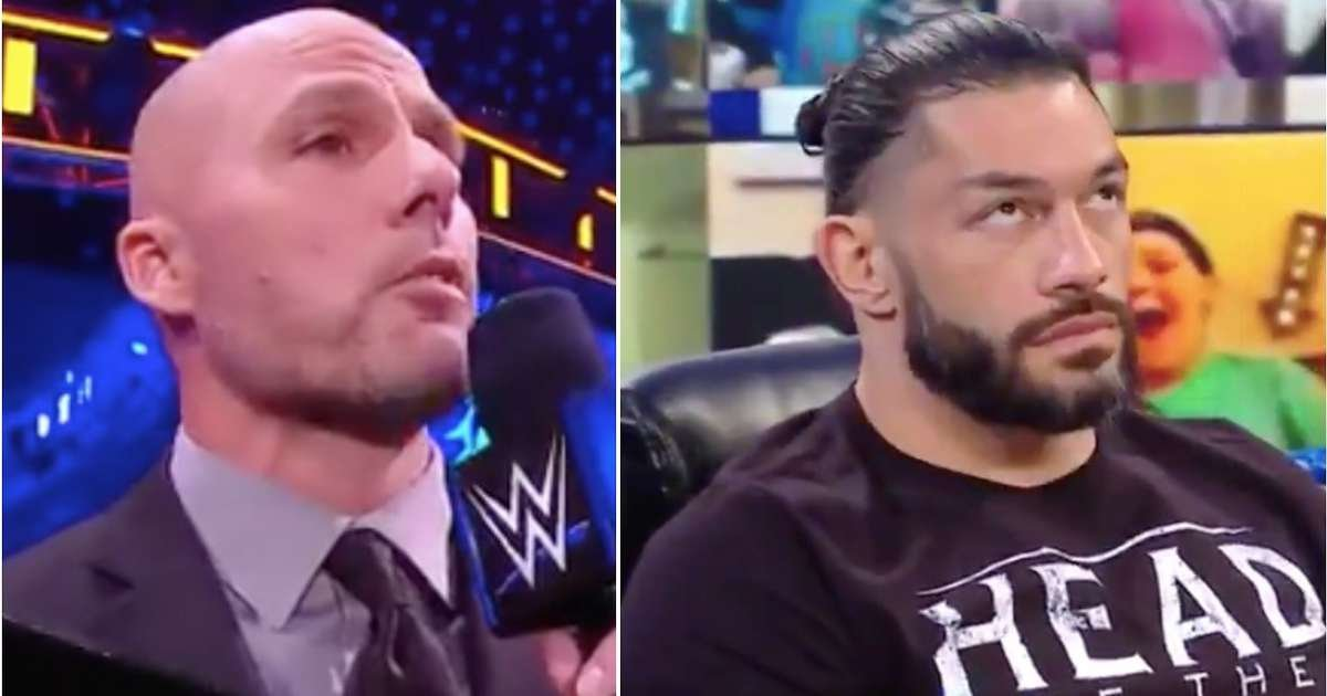 Roman Reigns has a brand new opponent for Royal Rumble - he didn't look impressed