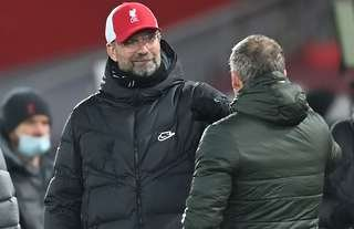 Liverpool 0-0 Man Utd: Jurgen Klopp takes swipe at Ole Gunnar Solskjaer  after Premier League draw | GiveMeSport