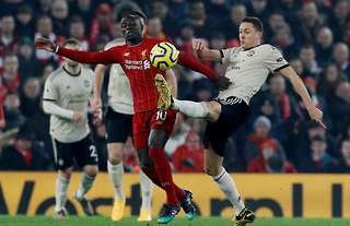Nemanja Matic and Sadio Mane