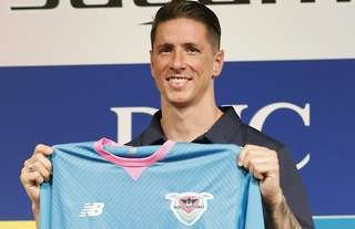 Torres played for Chelsea, Liverpool and Atletico Madrid.