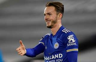 James Maddison scored in Leicester's 2-0 win over Chelsea