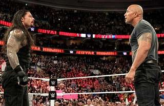 Reigns and The Rock could face off in WWE at WrestleMania 39