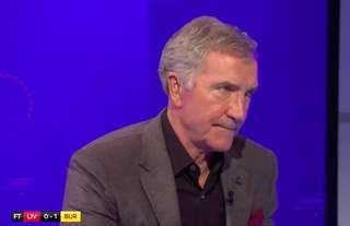 Graeme Souness was not a happy man after Liverpool's loss to Burnley