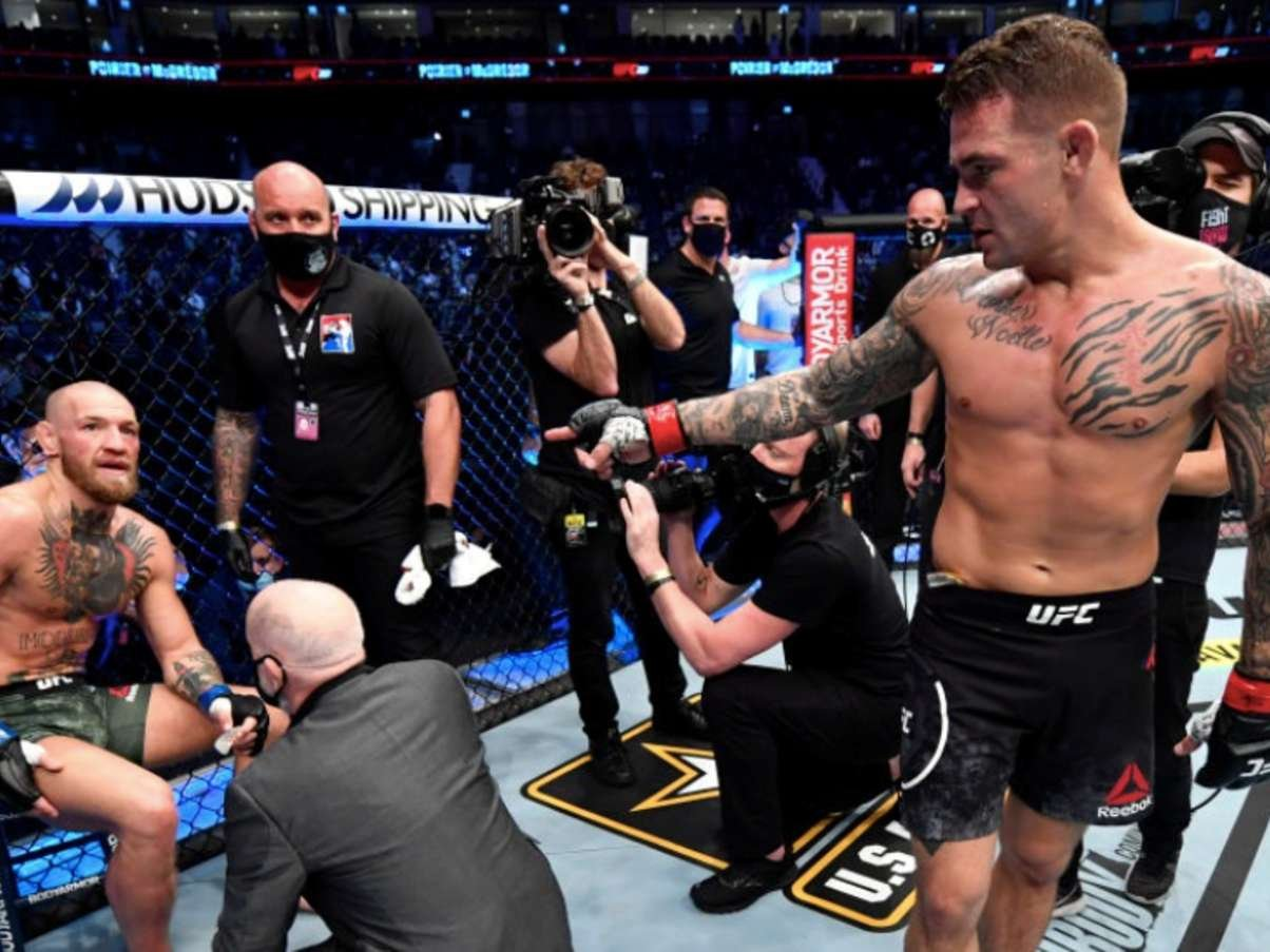 UFC 257: Conor McGregor suffers only third loss in UFC after Dustin Poirier wins on Fight Island | GiveMeSport