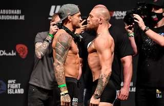 Conor McGregor was defeated by Dustin Poirier at UFC 257