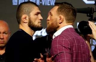Khabib has fired shot at McGregor after his shock defeat at UFC 257