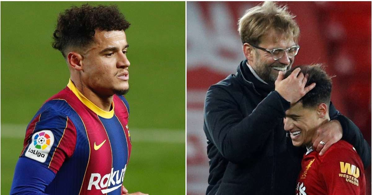 Barcelona still owe Liverpool £25 million for the purchase of Philippe Coutinho