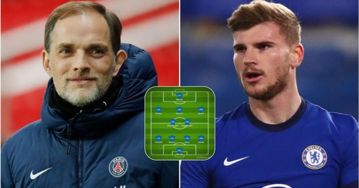 How Chelsea could line up under Thomas Tuchel after Frank Lampard is officially sacked