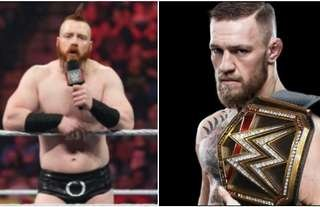 Sheamus expects to see Conor McGregor in WWE soon
